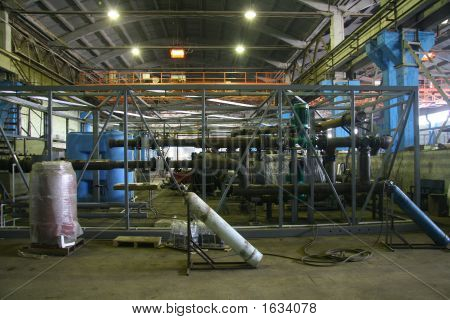 Construction Of Block Boiler-House