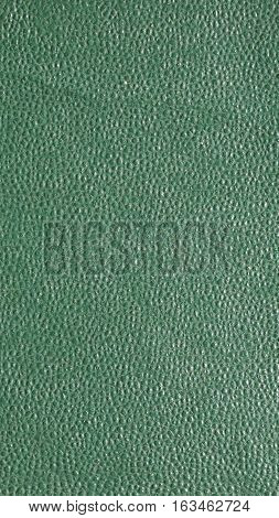 Green Leatherette Background - Vertical