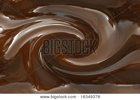 the abstract chocolate circulation background