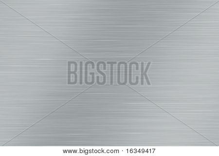 illustration of silver metal background