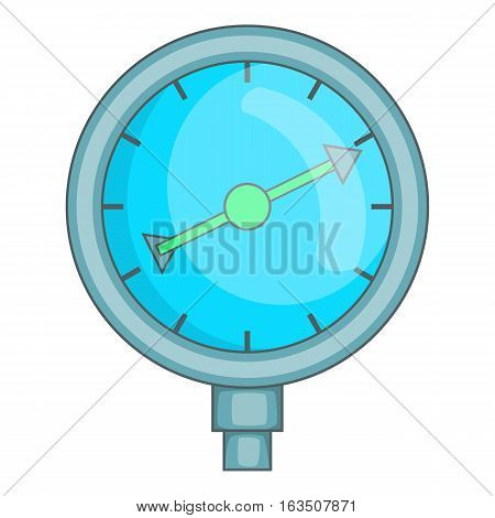 Indicator fuel device icon. Cartoon illustration of indicator fuel device vector icon for web design