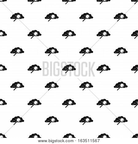 Search files in cloud storage pattern. Simple illustration of search files in cloud storage vector pattern for web