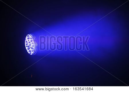 Stage Led Spot Light With Blue Beam