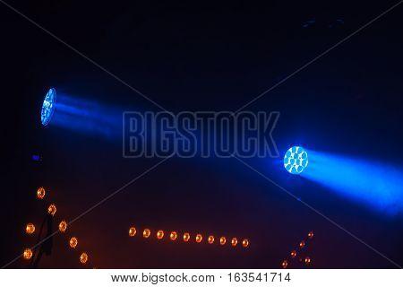 Blue Led Spot Lights, Stage Illumination