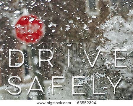 Winter driving Words