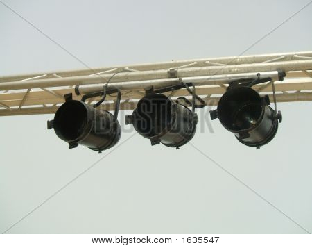 Spot Lights Or A Gantry For Parties/Concerts