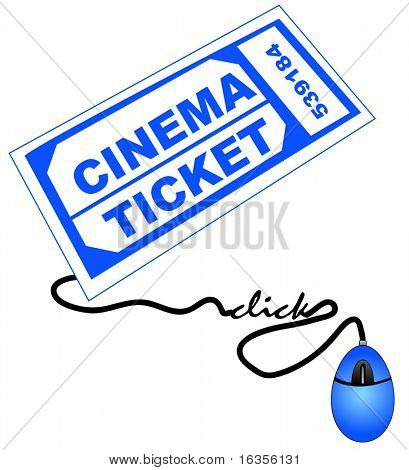 shopping for cinema or movie theater tickets online