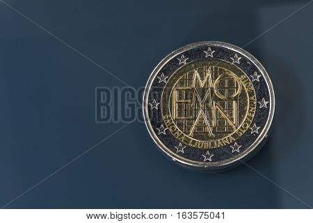 Commemorative 2 Eur Coin Emona, Slovenia