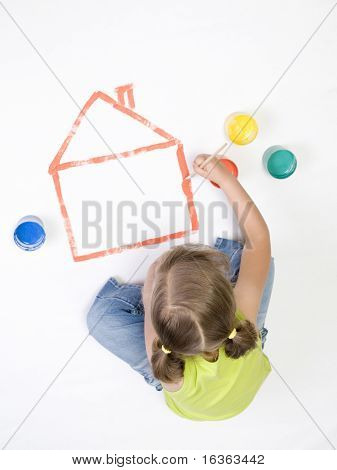 Painting house