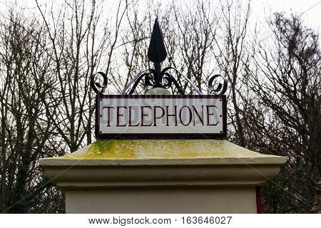 Top Of K1 Telephone Box, Uk