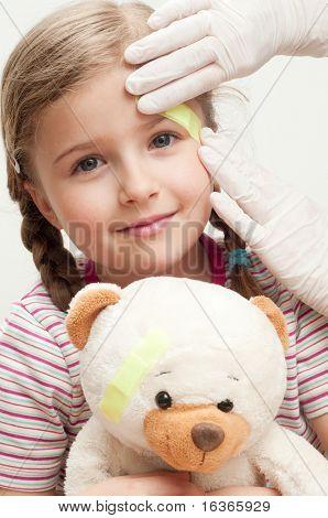 Wenig Geduld (No-Name-Teddybär)