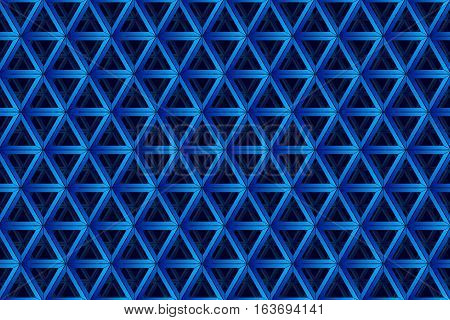 Abstract triangle background. Geometrical background with gradient and 3d effect. Stock vector. eps10