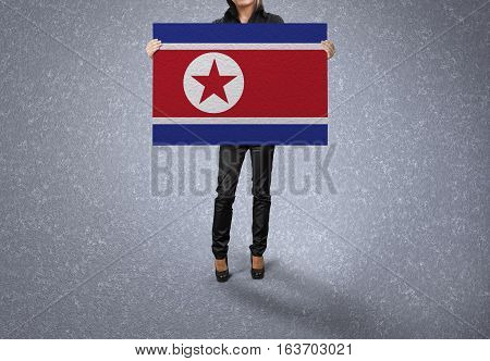 NORTH KOREA Flag Design and Presentation, NORTH KOREA Flag