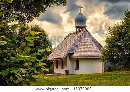 A small Chapel in the Black Forest, Germany