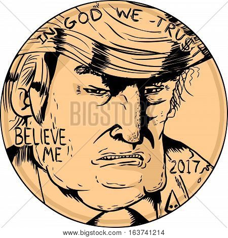 Donald J. Trump On Penny