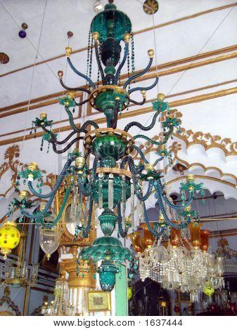 Ornamental Candle Chandlier