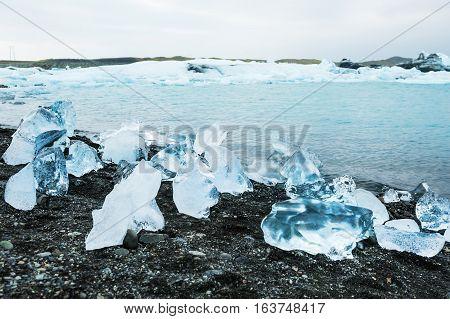 Jokulsarlon Glacial Lagoon, South Iceland