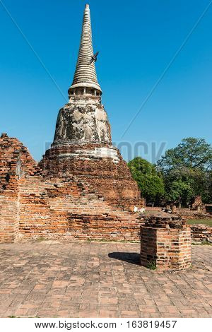 Temples Of Thailand Ayutthaya Historical Park