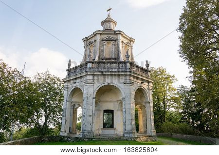 Thirteenth Chapel At Sacro Monte Di Varese. Italy