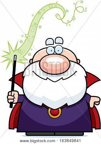 Cartoon Wizard Spell