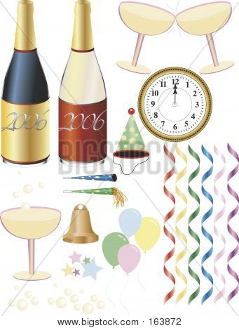 New Years Party Supplies