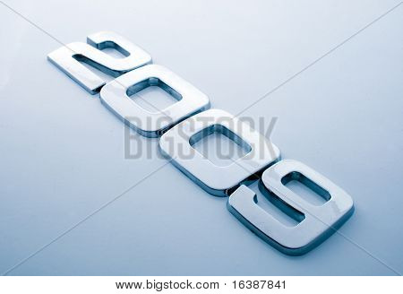Metal digits - 2009  See all metal letters in my portfolio