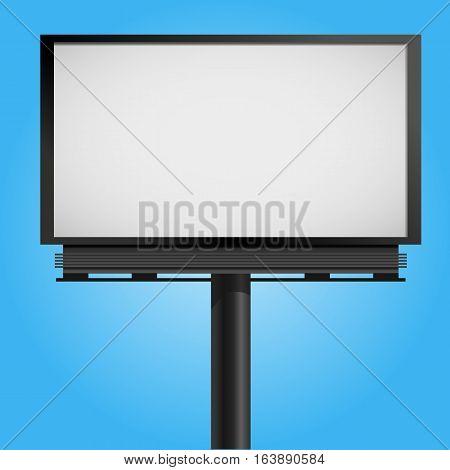 Billboard Mock Up For Presentation Vector Illustration Eps 10