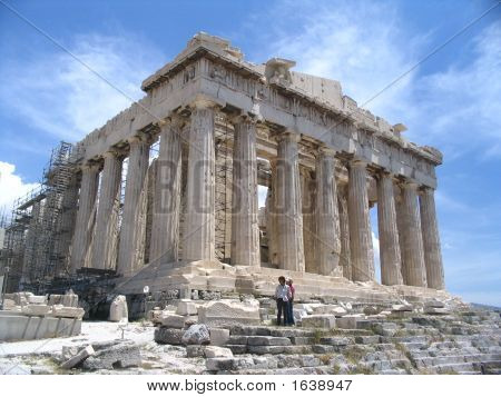 Parthenon Acropolis Temple Of Athena