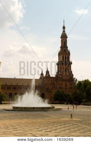 Fuente en Plaza España