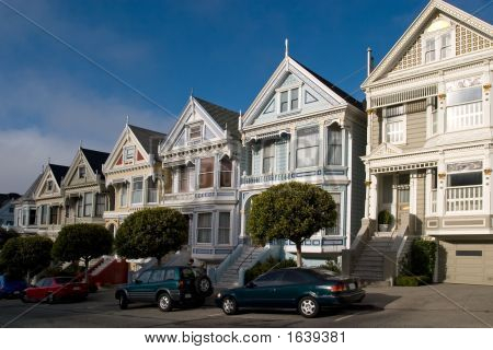 Victorian Houses, San Francisco, California