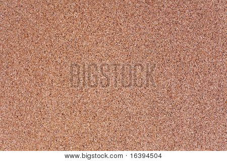 closeup of texture of cork board