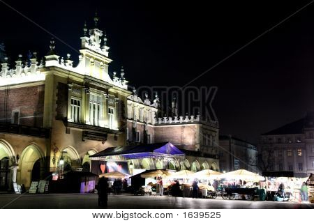 Krakow - Vivid City At Night