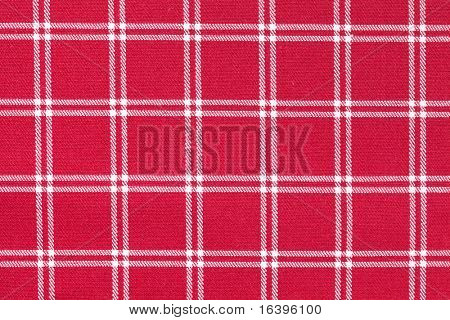 photo shot of white and red checkered pattern