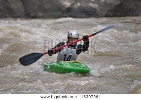 Kayaking competition