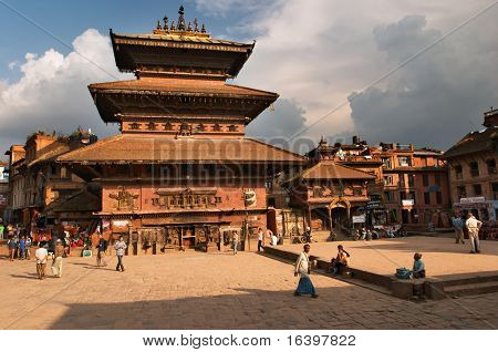 Kathmandu- capital of Nepal