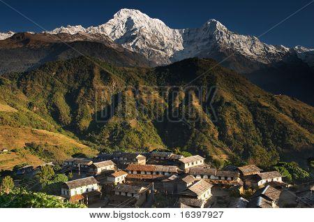 Himalayan village, Nepal