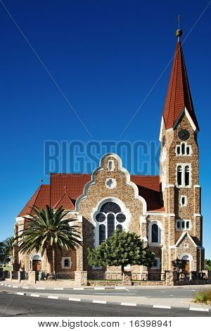 Lutheran church in Windhoek, Namibia