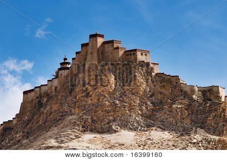 Ancient tibetan fortress. Gyantse, Tibet
