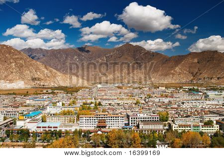 City of Lhasa- capital of Tibet
