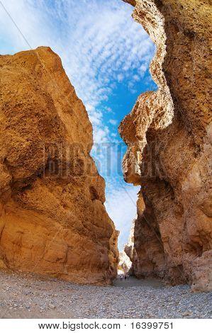 Sesriem Canyon in Namib Desert, Namibia