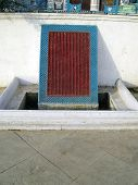 stock photo of muharram  - Water drain at the historic chota imambada of lucknow - JPG