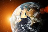 foto of planet earth  - planet earth - JPG