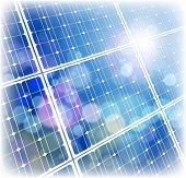 stock photo of economizer  - solar power panel  - JPG