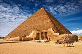 stock photo of burial-vault  - Egyptian pyramid - JPG