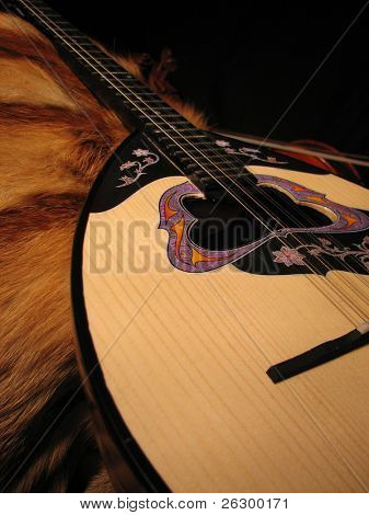 bouzouki and the fur coat
