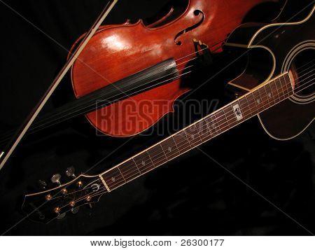 guitar and viola