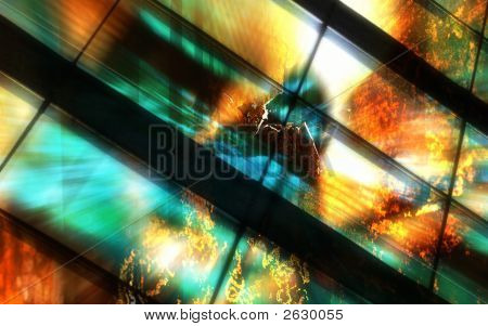 Firewall Explosion Background