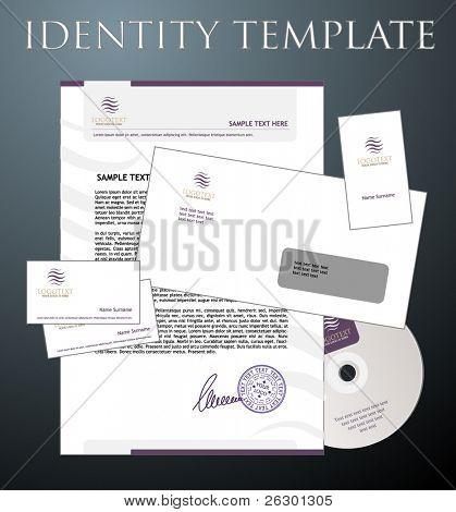 Identität Vorlage