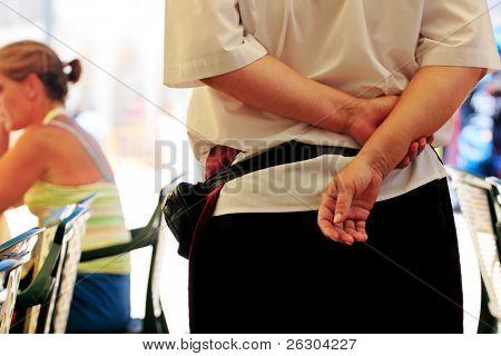 Kellnerin Dienst