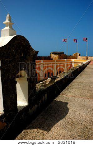 San Felipe del Morro Festung, San Juan, Pr, usa